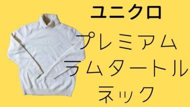 【メンズファッション】冬と言えばタートルネック!!ユニクロ プレミアムラムタートルネックセーター